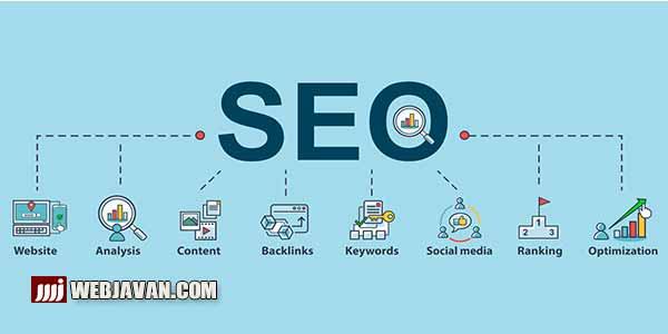 مراحل سئو سایت   بهینه سازی وب سایت   SEO